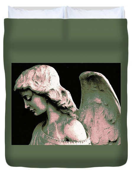 Angel 4 Duvet Cover by Maria Huntley