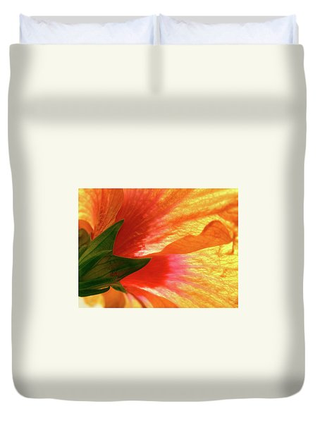 Duvet Cover featuring the photograph Angel Brushstrokes  by Marie Hicks