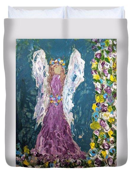 Angel Diva Duvet Cover