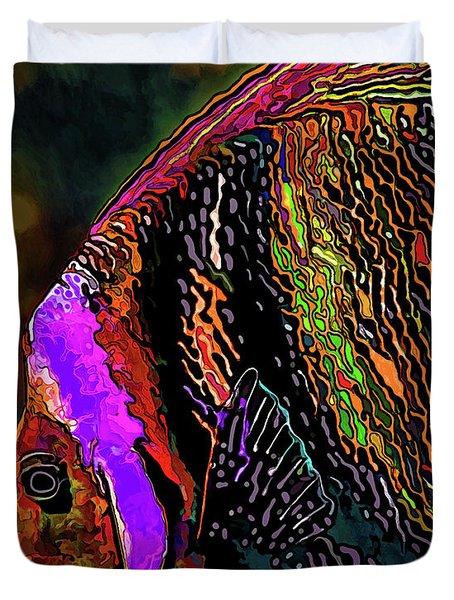 Angel Face 2 Duvet Cover