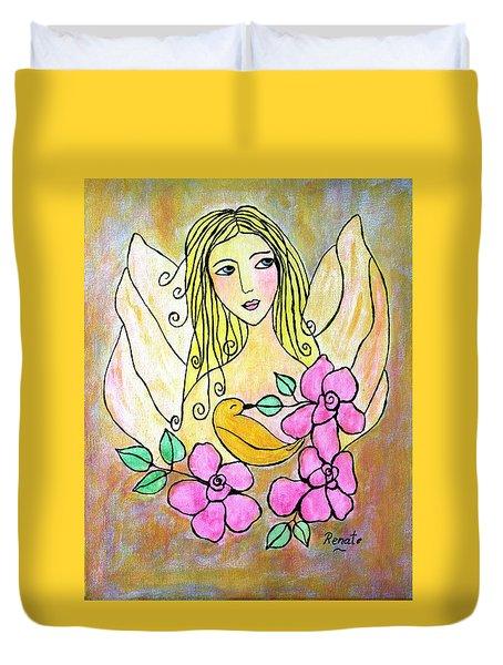 Angel-face Duvet Cover