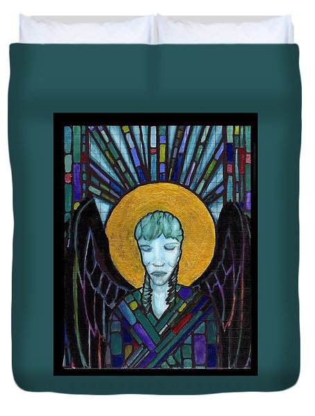 Angel Garbriel Duvet Cover
