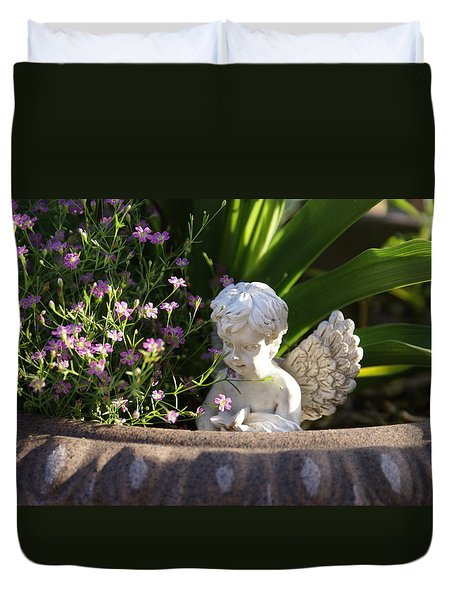 Angel Duvet Cover by Heidi Poulin