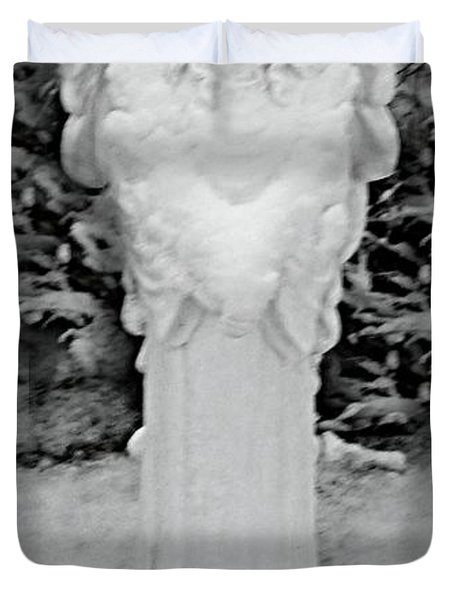 Angel In The Snow Duvet Cover