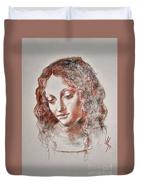 Angel Madonna Duvet Cover