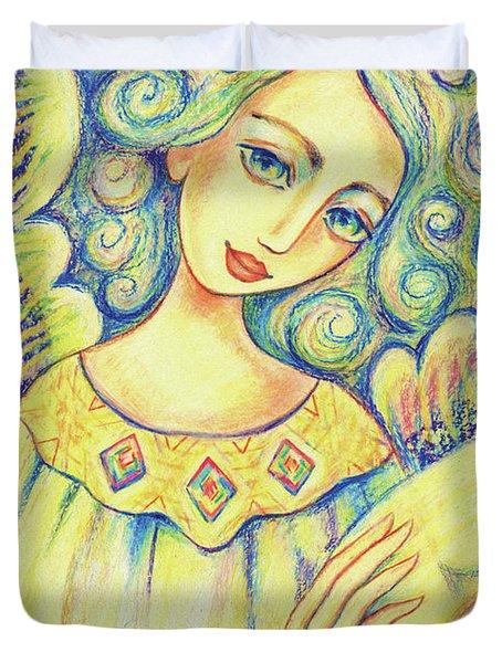 Angel Of Mercy Duvet Cover