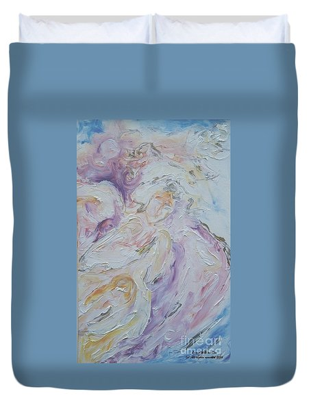 Angel Of Messages Duvet Cover