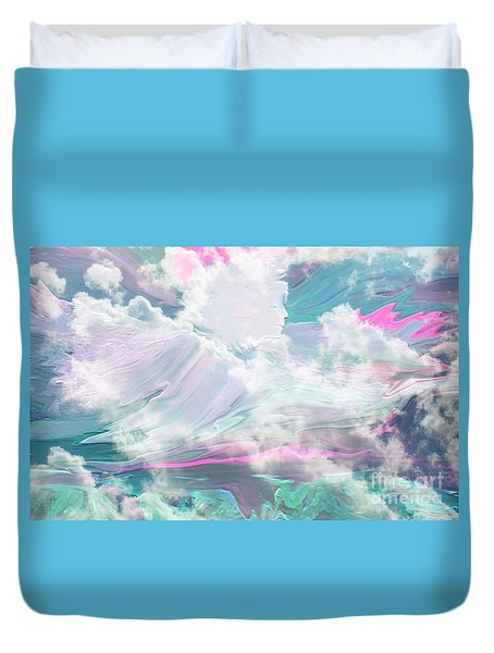 Angel Art Angel Of Peace And Healing Duvet Cover