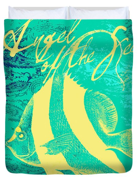 Angel Of The Sea Duvet Cover