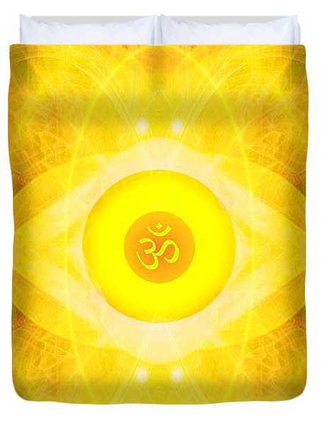 Angel Of The Sun Duvet Cover