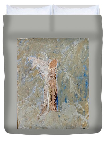 Angel Out Of Nowhere Duvet Cover