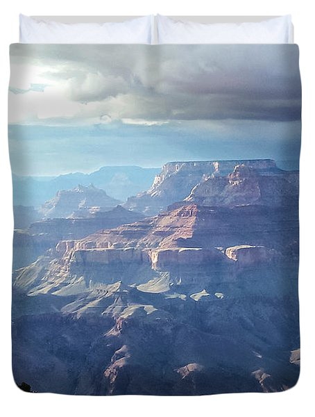 Angel S Gate And Wotan S Throne Grand Canyon National Park Duvet Cover