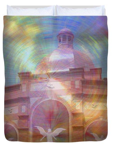 Angel Sanctuary Duvet Cover