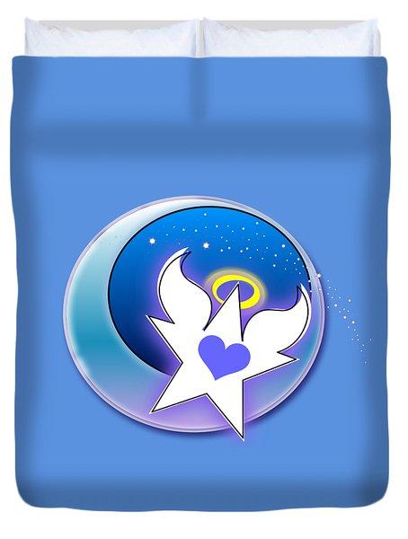 Angel Star Icon Duvet Cover