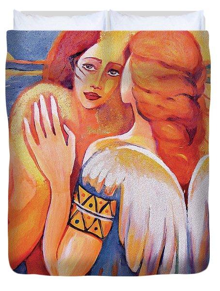Angel Touch Duvet Cover