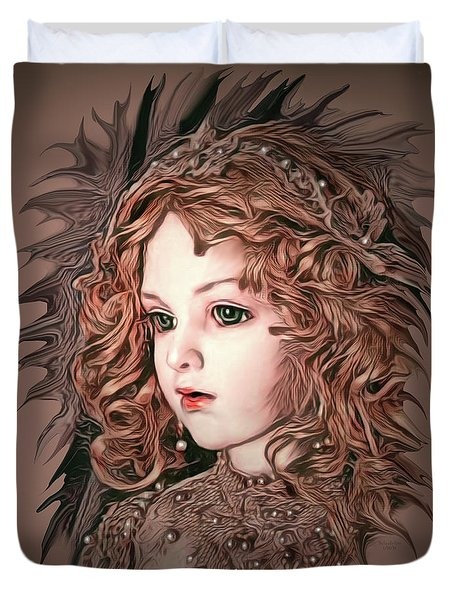 Angelic Doll Duvet Cover
