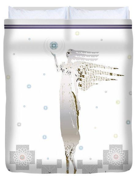 Angelic Messenger Duvet Cover