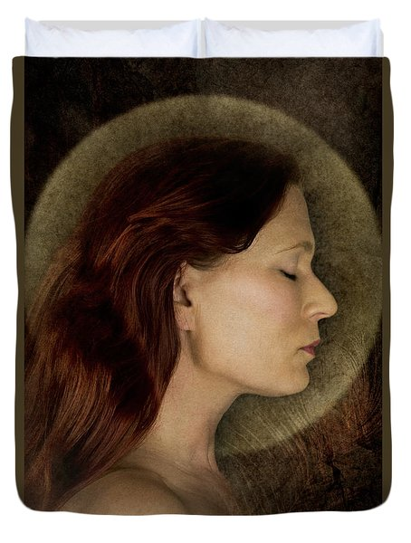 Angelic Portrait Duvet Cover