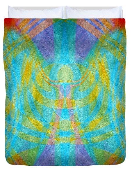 Angelic Presence Duvet Cover