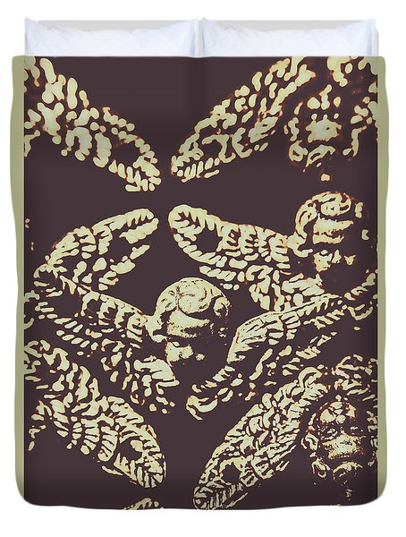 Angelic Renaissance  Duvet Cover