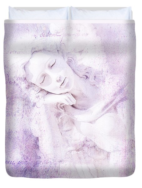 Angelic Duvet Cover by Theresa Tahara