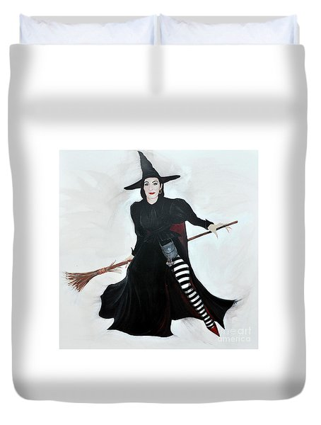 Angelica Houston Bewitched Duvet Cover
