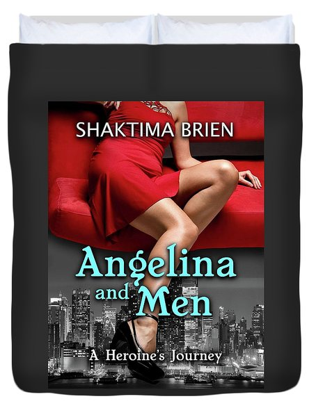 Angelina And Men Duvet Cover