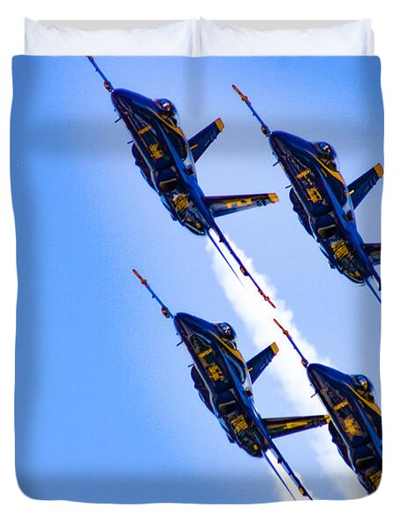Angels Four Duvet Cover