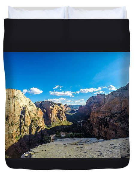 Angels Landing Duvet Cover