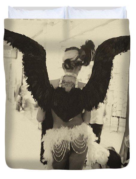 Angels Of Las Vegas Duvet Cover