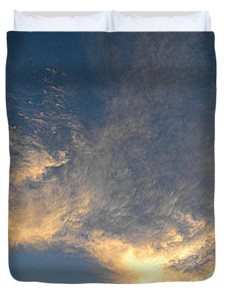 Angels Paint The Sky Duvet Cover