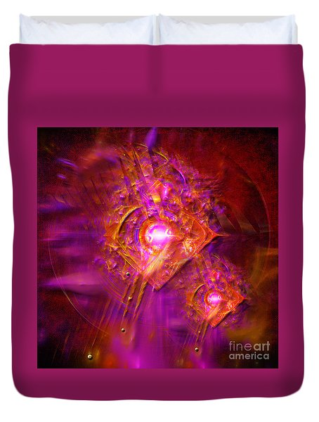 Angels Vibration Frequency  Duvet Cover