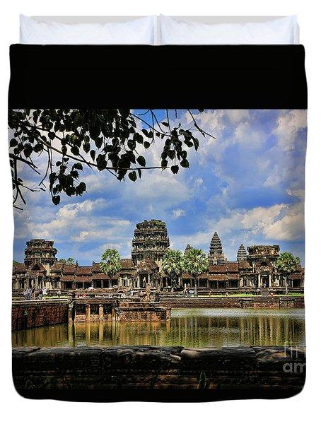 Angkor Wat Panorama  Duvet Cover