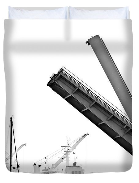 Angle Of Approach Duvet Cover