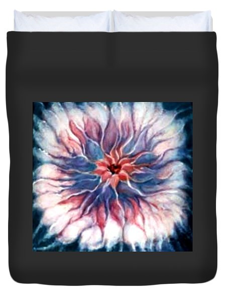 Angora Bloom Duvet Cover
