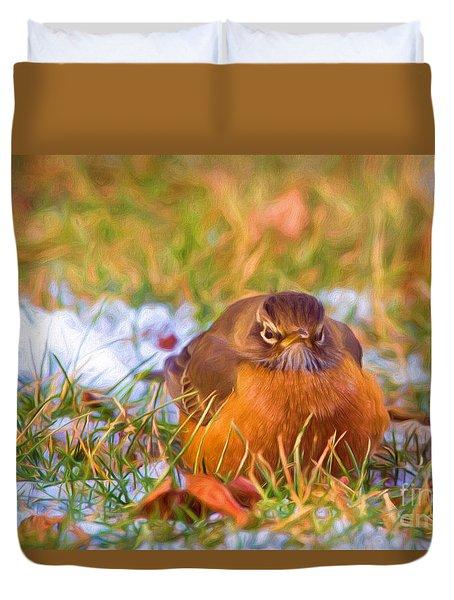 Angry Bird Duvet Cover