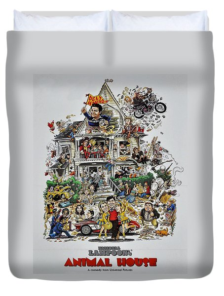 Animal House  Duvet Cover by Movie Poster Prints