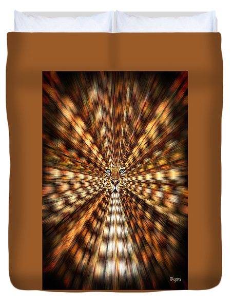 Animal Magnetism Duvet Cover by Paula Ayers