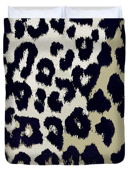 Animal Print  Duvet Cover by Mindy Sommers