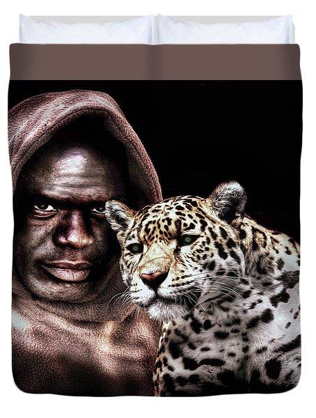 Animal Totem Duvet Cover