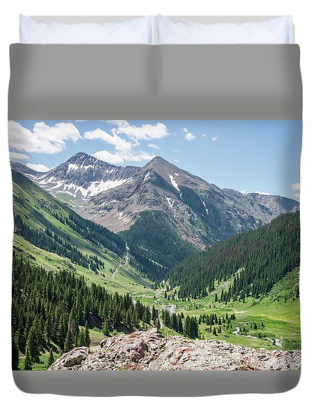 Animas Forks Duvet Cover