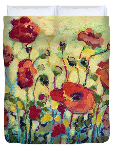 Anitas Poppies Duvet Cover