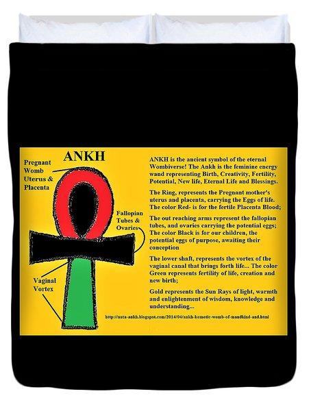 Ankh Meaning Duvet Cover