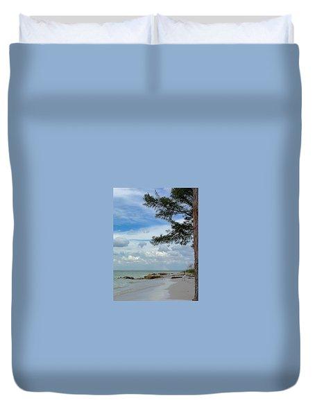 Anna Maria Island  Duvet Cover by Jean Marie Maggi