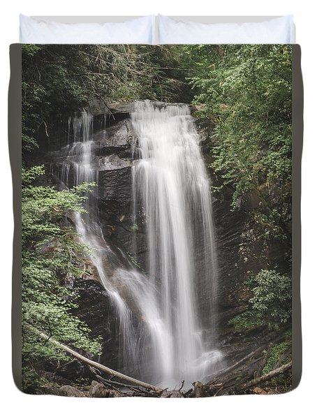 Anna Ruby Falls Duvet Cover by David Collins