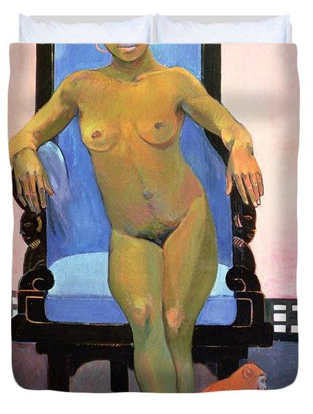 Annah The Javanese Duvet Cover by Paul Gauguin
