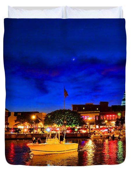 Annapolis Magic Night Duvet Cover