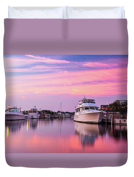 Annapolis Sunrise Duvet Cover