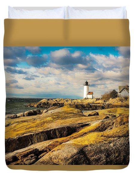 Annisquam Harbor Light Duvet Cover