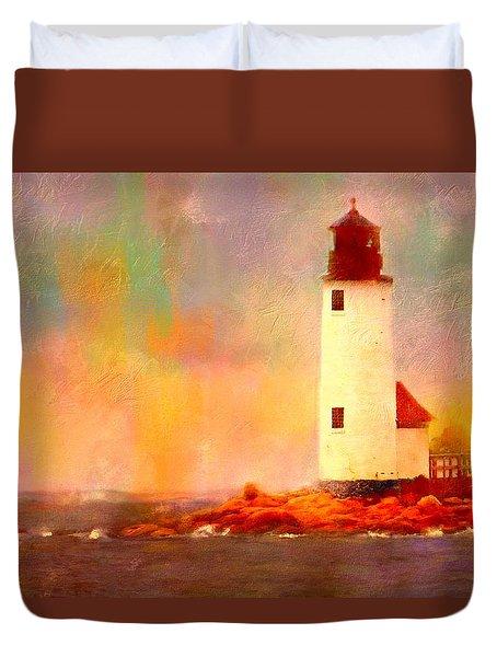 Annisquam Rainbow Duvet Cover